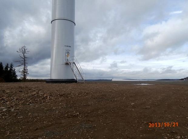 Abschreckendes Beispiel: Windpark im Wald bei Bad Laasphe