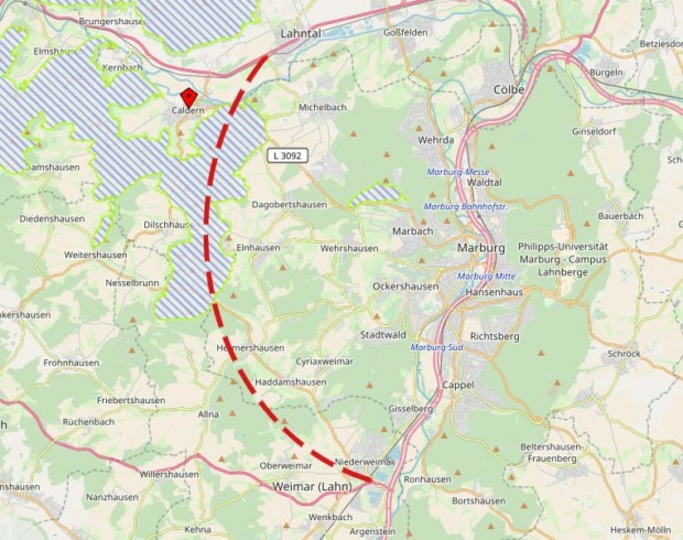 Geforderte West-Umgehung Marburgs ist nicht genehmigungsfähig