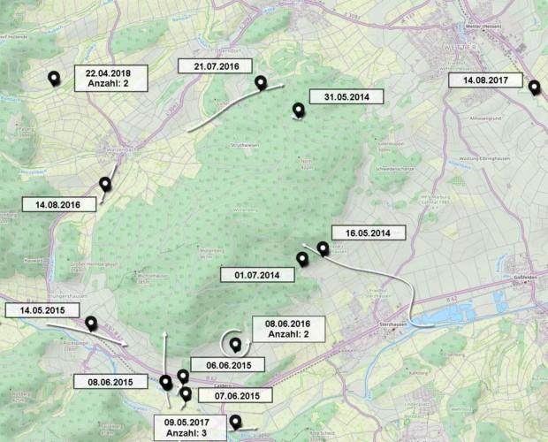 Erfassungen zur Avifauna im Bereich Wollenberg 2014–2018